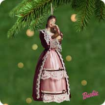 2001 Barbie - Victorian Hallmark Ornament