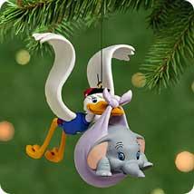 2001 Disney - Hello Dumbo Hallmark Ornament