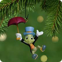2001 Disney - Jiminy Cricket Hallmark Ornament
