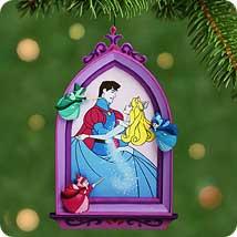 2001 Disney - Magical Dress - Briar Rose Hallmark Ornament