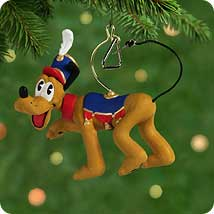 2001 Disney - Pluto - Triangle Hallmark Ornament