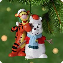 2001 Disney - Winnie The Pooh - A Familiar Face Hallmark Ornament