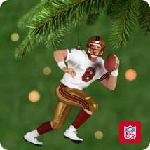 2001 Football - Steve Young - MNT Hallmark Ornament