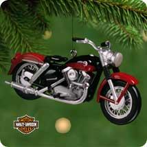 2001 Harley Davidson #3 - 57 Xl Sportser Hallmark Ornament
