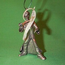 2001 Harry Potter Chooses A Wand Hallmark Ornament