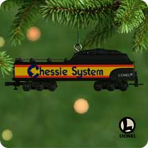 2001 Lionel Chessie Tender Hallmark Ornament