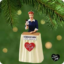 2001 Lucy Does Tv - SDB Hallmark Ornament