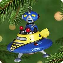 Robot Parade Hallmark Ornaments