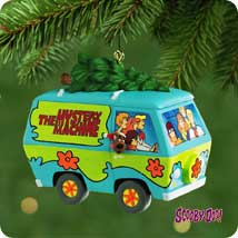 2001 Scooby-doo - The Mystery Machine Hallmark Ornament