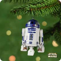 2001 Star Wars #5 - R2d2 Hallmark Ornament