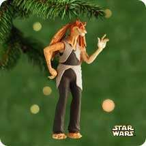 2001 Star Wars - Jar-jar Hallmark Ornament