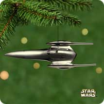 2001 Star Wars - Naboo Royal Hallmark Ornament