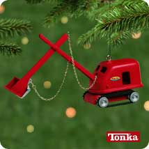 2001 Tonka - Steam Shovel - MNT Hallmark Ornament
