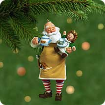 2001 Toymaker Santa #2 Hallmark Ornament
