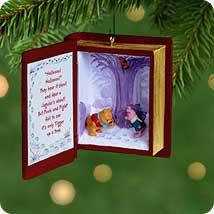 2001 Winnie The Pooh - Book #4 - SDB Hallmark Ornament