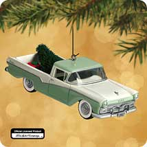 2002 All American Trucks #8 - 1957 Ford Ranchero Hallmark Ornament