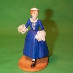 2002 American Girl - Felicity Hallmark Ornament