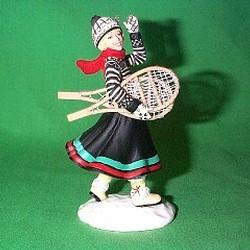 2002 American Girl - Kirsten Hallmark Ornament