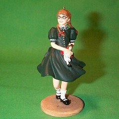 2002 American Girl - Molly - SDB Hallmark Ornament
