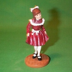 2002 American Girl - Samantha - NB Hallmark Ornament