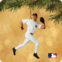2002 Ballpark #7 - Derek Jeter Hallmark Ornament