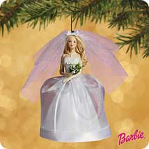 2002 Barbie - Bride - Blonde Hallmark Ornament