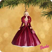 2002 Barbie - Celebration #3 Hallmark Ornament