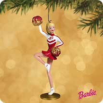 2002 Barbie - Cheer For Fun Hallmark Ornament