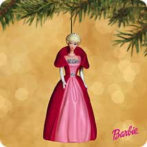2002 Barbie - Debut #9 - Sophisticated Lady Hallmark Ornament