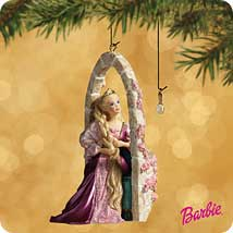 2002 Barbie - Rapunzel - SDB Hallmark Ornament