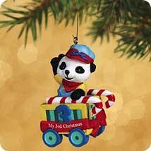 2002 Child's 3rd Christmas - Bear Hallmark Ornament