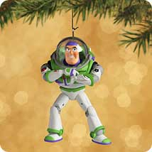 2002 Disney - Buzz Lightyear Hallmark Ornament