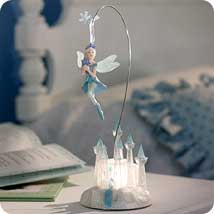 2002 Frostlight Faeries - Gabriella Castle Hallmark Ornament