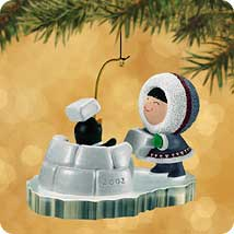 2002 Frosty Friends #23 Hallmark Ornament