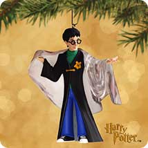 2002 Harry Potter - Invisibility Cloak - SDB Hallmark Ornament
