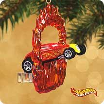 2002 Hot Wheels - Sooo Fast - MNT Hallmark Ornament