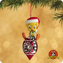 2002 Lt - Tweety - Christmas Habitat Hallmark Ornament