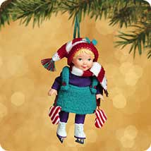2002 Mistletoe Miss #2 Hallmark Ornament