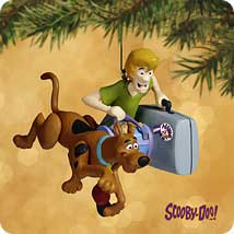 2002 Scooby - Doo And Shaggy Hallmark Ornament