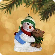 2002 Snow Buddies #5 - Bear Hallmark Ornament