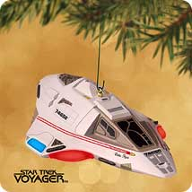 2002 Star Trek #12 - Delta Flyer Hallmark Ornament