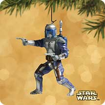 2002 Star Wars - Jango Fett - SDB Hallmark Ornament