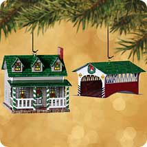 Town and Country Hallmark Ornaments