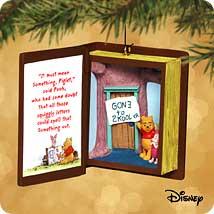 2002 Winnie The Pooh - Book #5 Hallmark Ornament