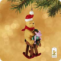 2002 Winnie The Pooh - Piglet's 1st Ride Hallmark Ornament