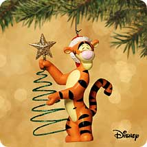 2002 Winnie The Pooh - Tigger's Springy Tree Hallmark Ornament
