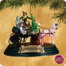 2002 Wizard Of Oz - Horse Of  A Different Color - MNT Hallmark Ornament