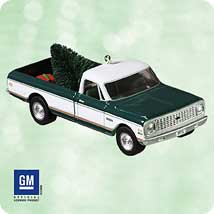 2003 All American Trucks #9 - 1972 Chev. Cheyenne Hallmark Ornament