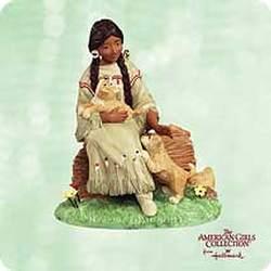 2003 American Girl - Kaya Hallmark Ornament
