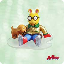 2003 Arthur And Pal Hallmark Ornament